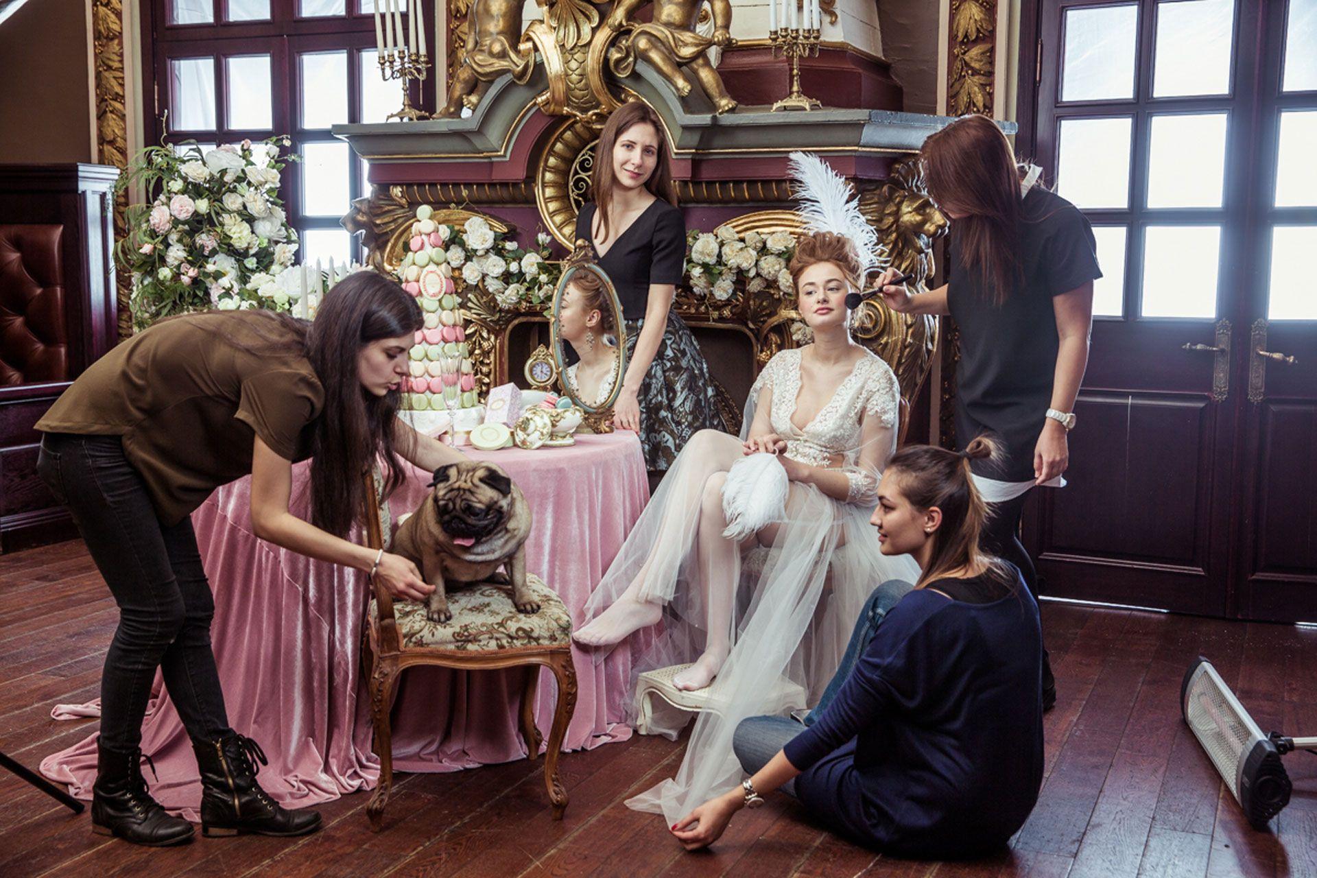 Мария-Антуанетта образ невесты фото 8