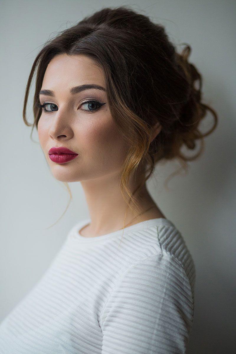 образ львицы макияж