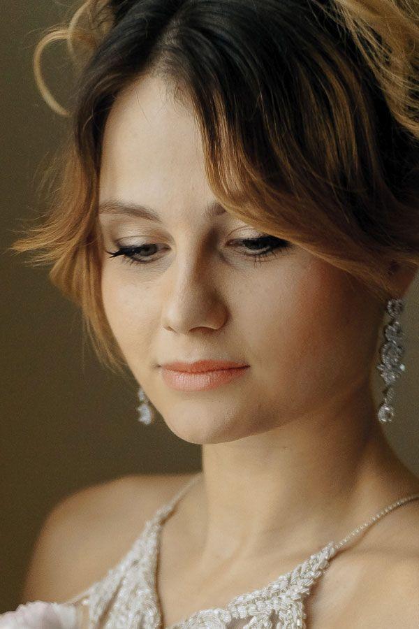 макияж глаз невеста