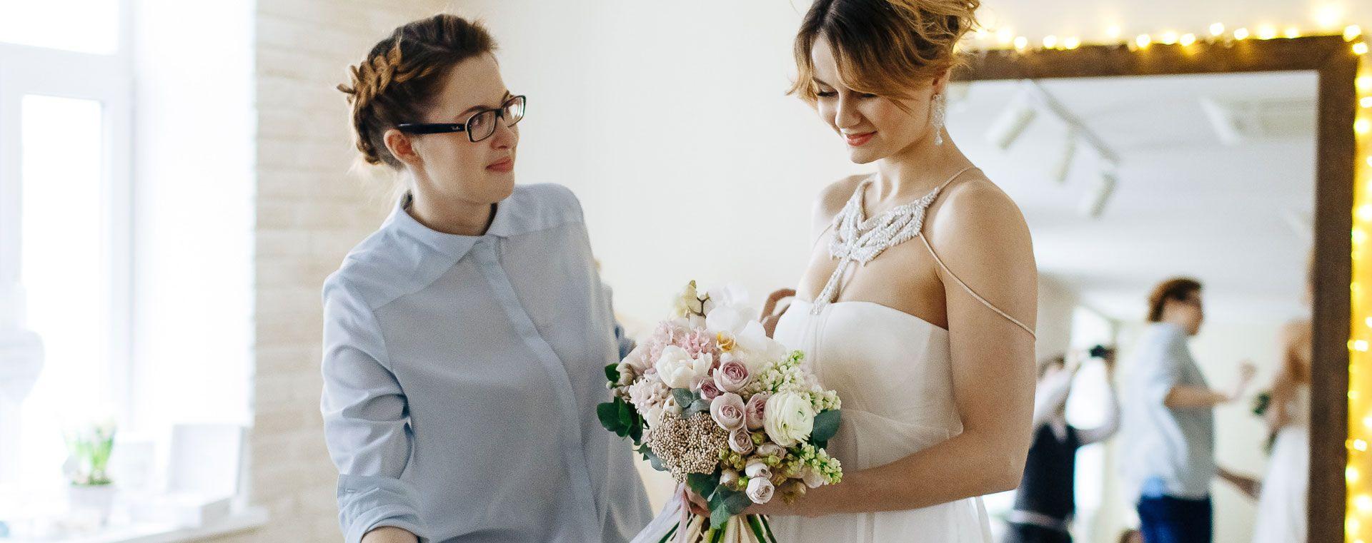 невеста классическая свадьба