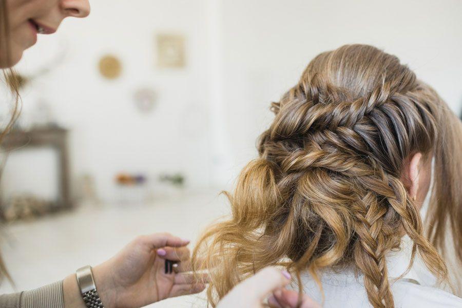 прическа подготовка к свадьбе