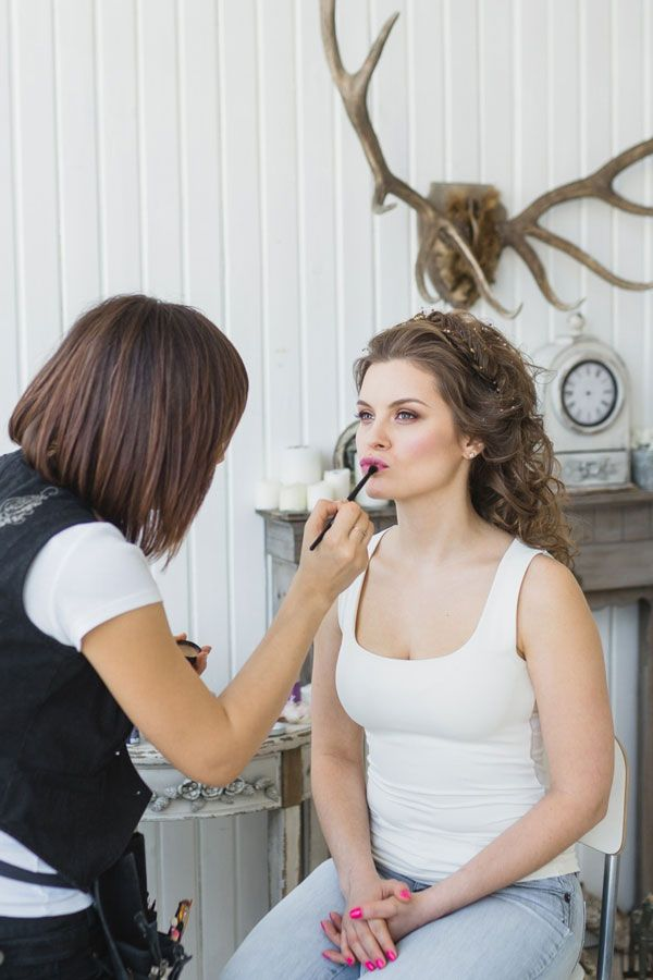 макияж невесты стилист