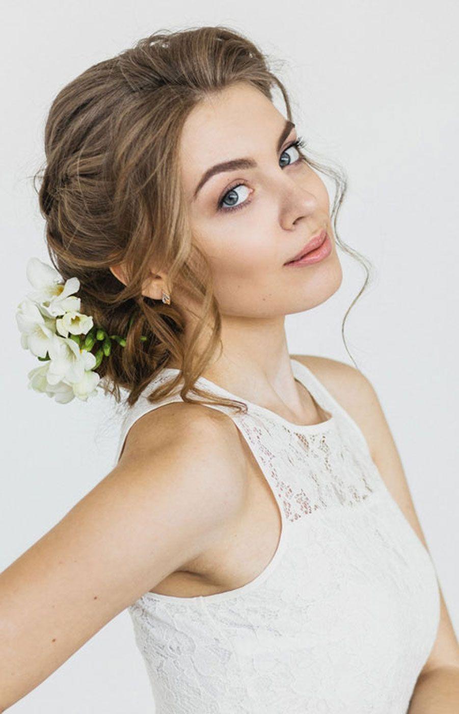 Свадебная прическа: косы