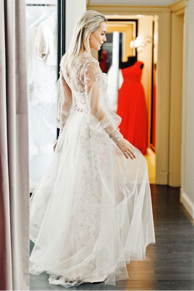 свадебное платье Анна Городжая