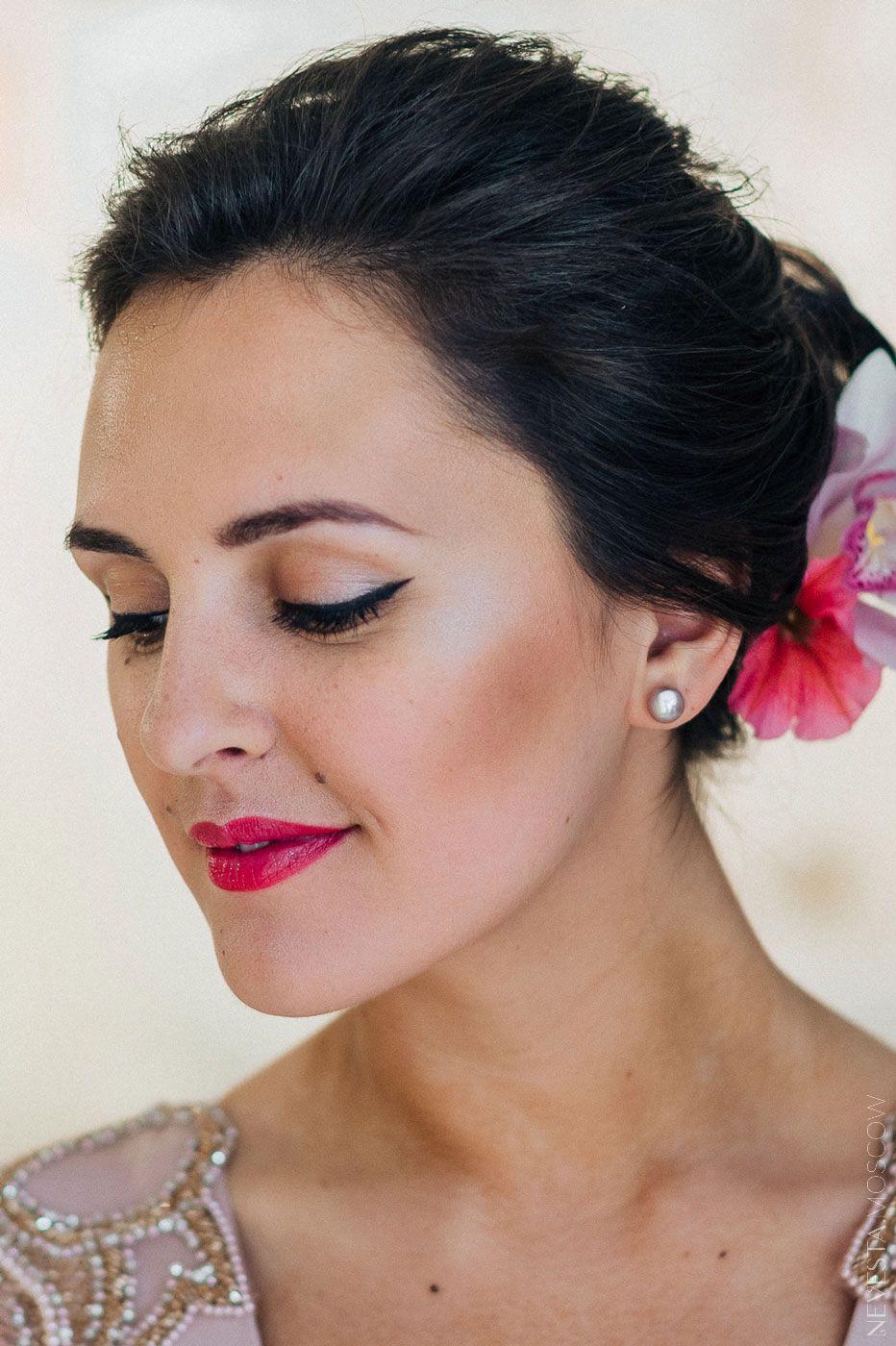 Актриса Мария Шумакова выходит замуж макияж