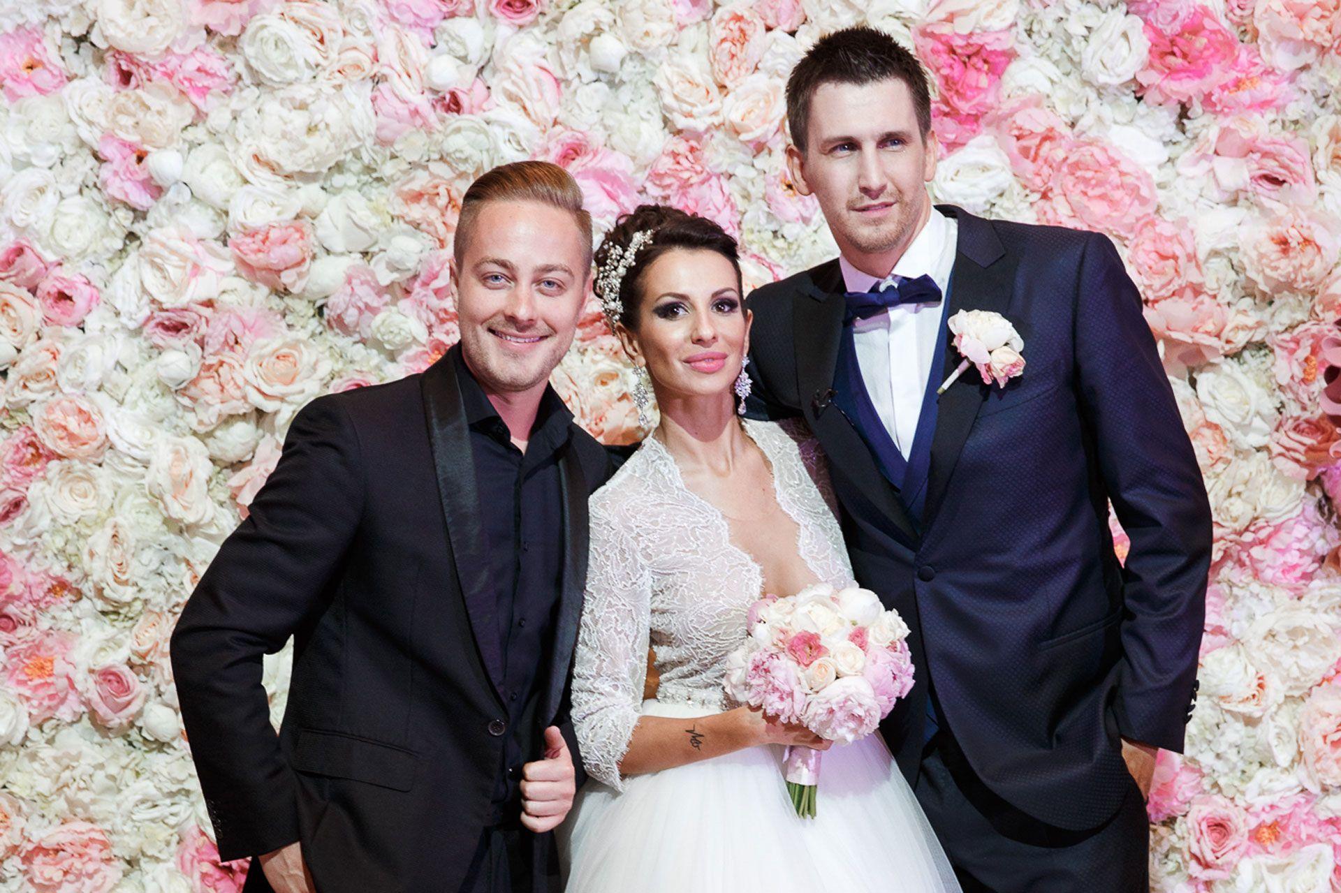 Пионовая свадьба. Свадьба Анны Грачевской и Артема Кузякина фото 39