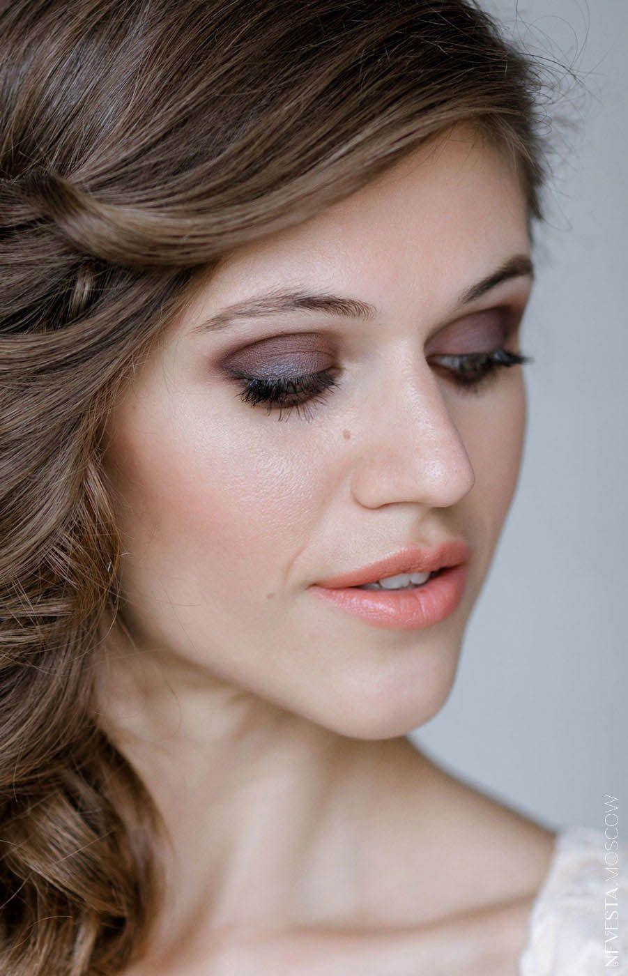 глаза макияж невеста