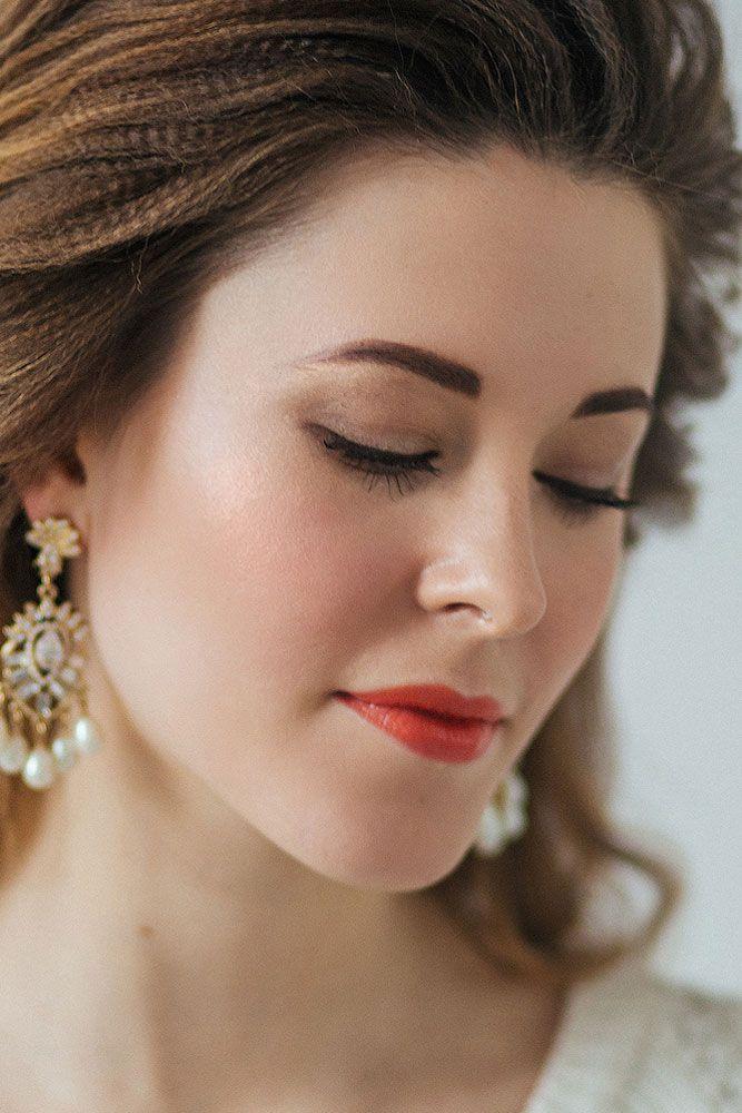 натуральный макияж невесты
