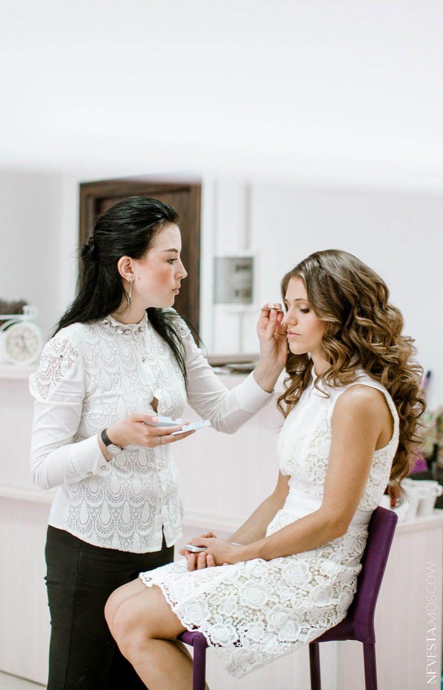 макияж для невесты на свадьбу