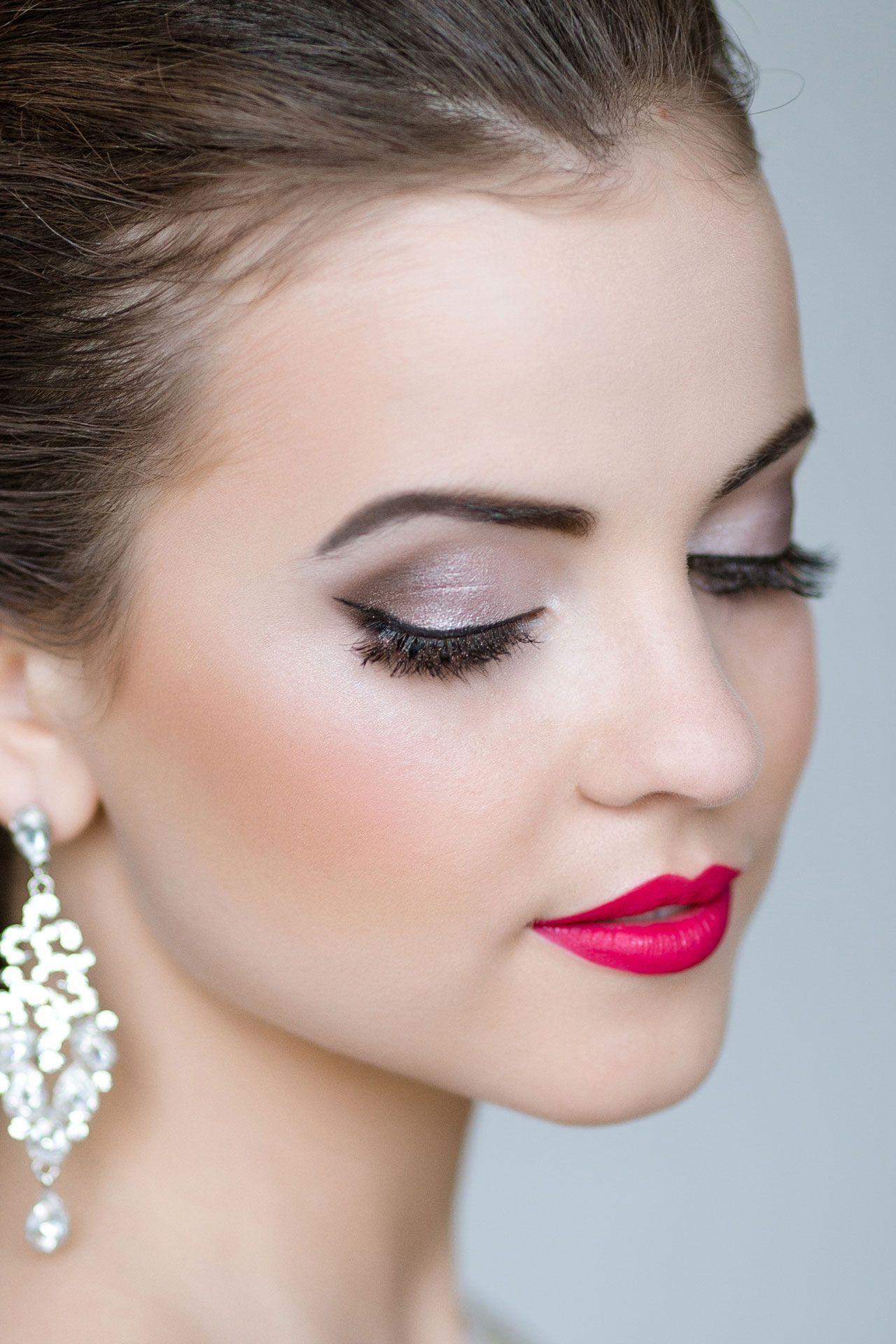 макияж невесте на свадьбу