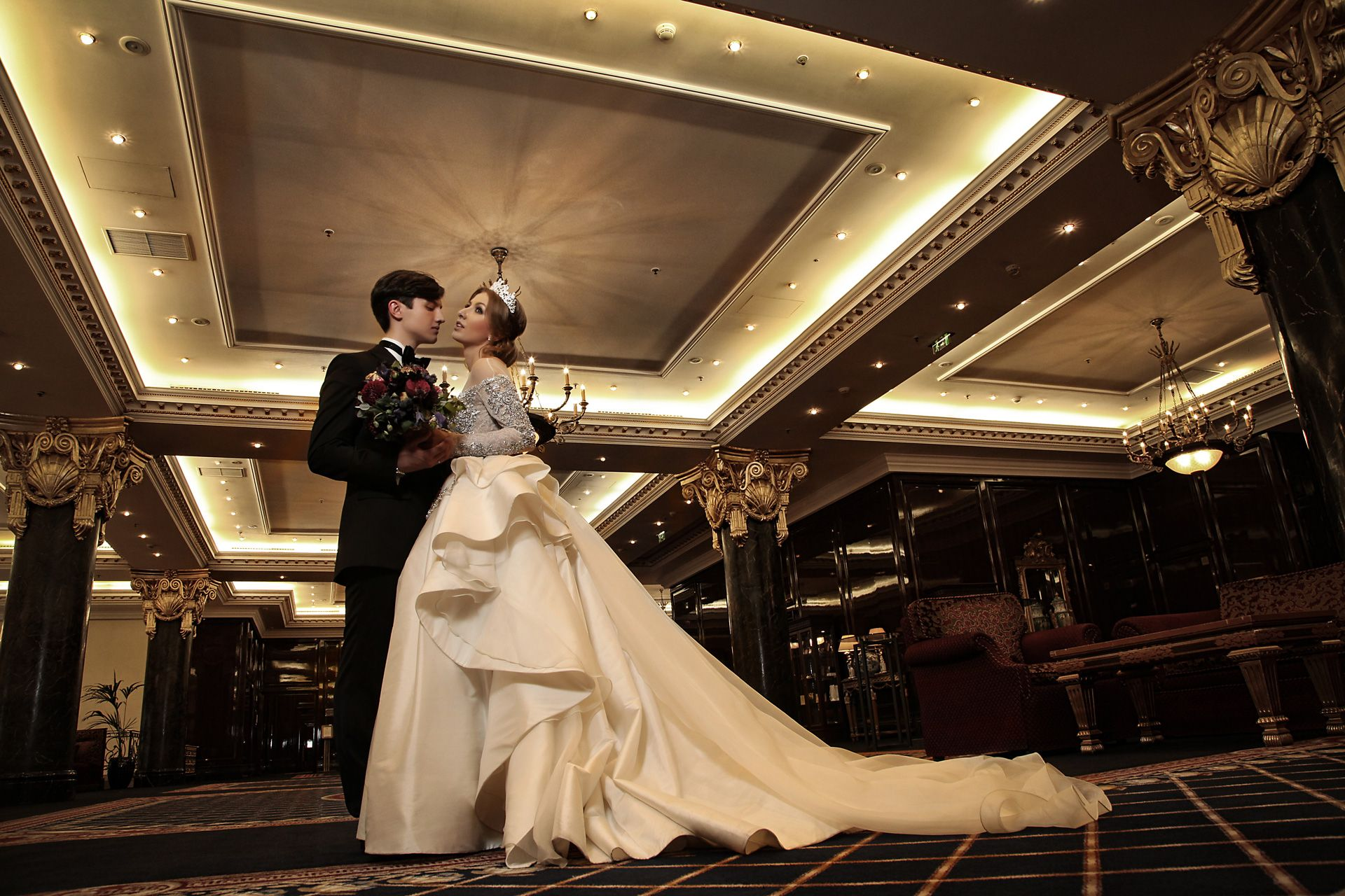 Эклектика. Свадьба Арины и Славы
