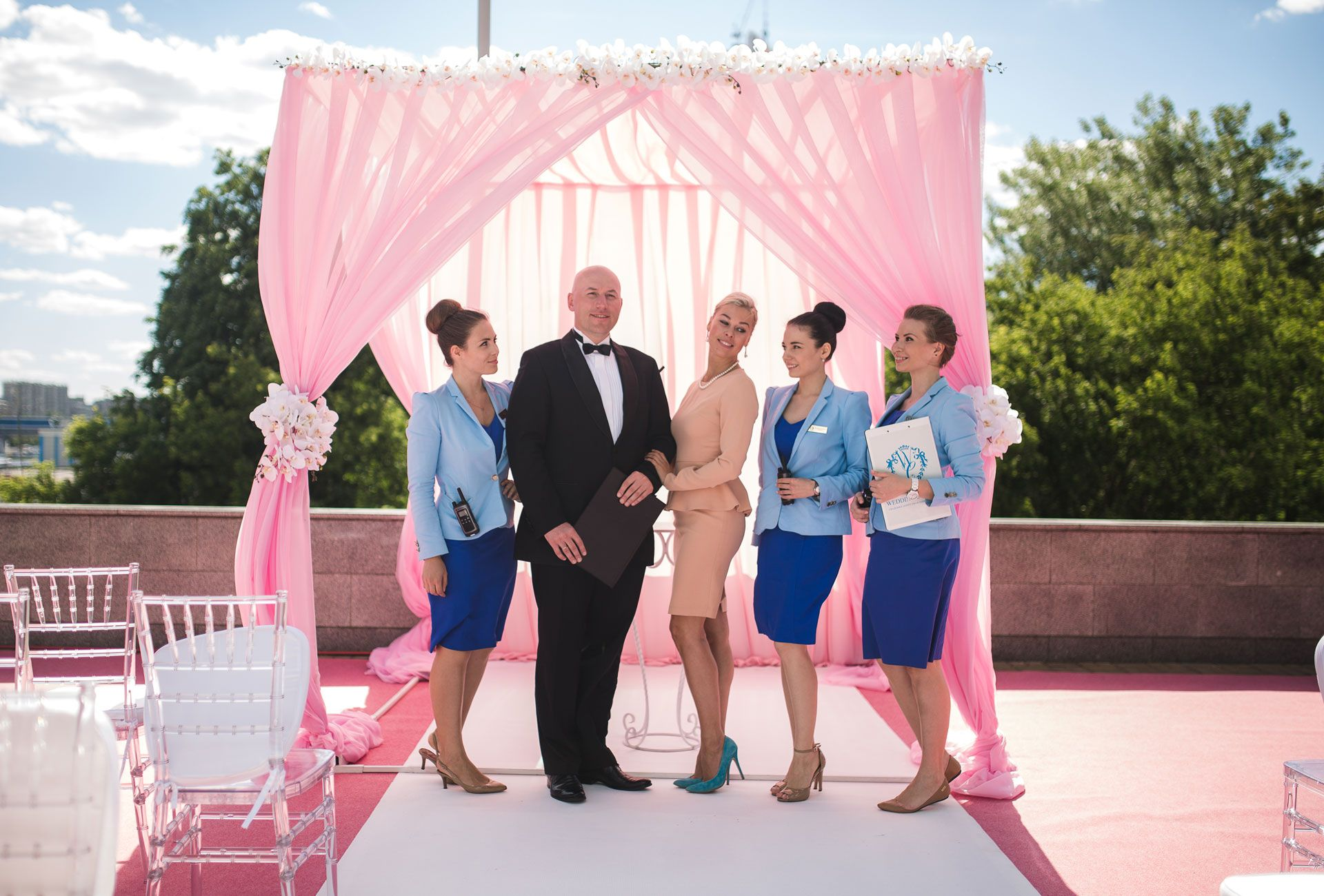 Crystal wedding. Свадьба Карины и Дмитрия