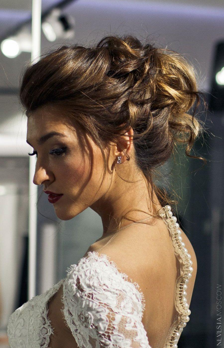 Орнелла Шигапова  макияж свадебная прическа