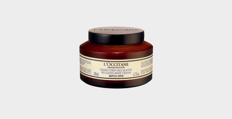3.Расслабляющий крем для тела Аромакология , L'Occitane.