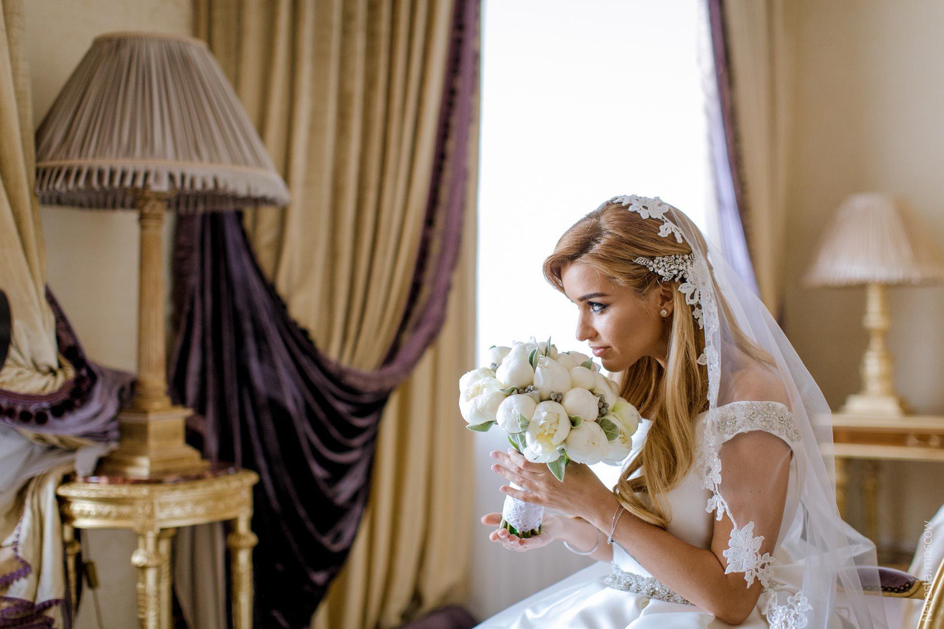 Свадебные прическа бородиной фото
