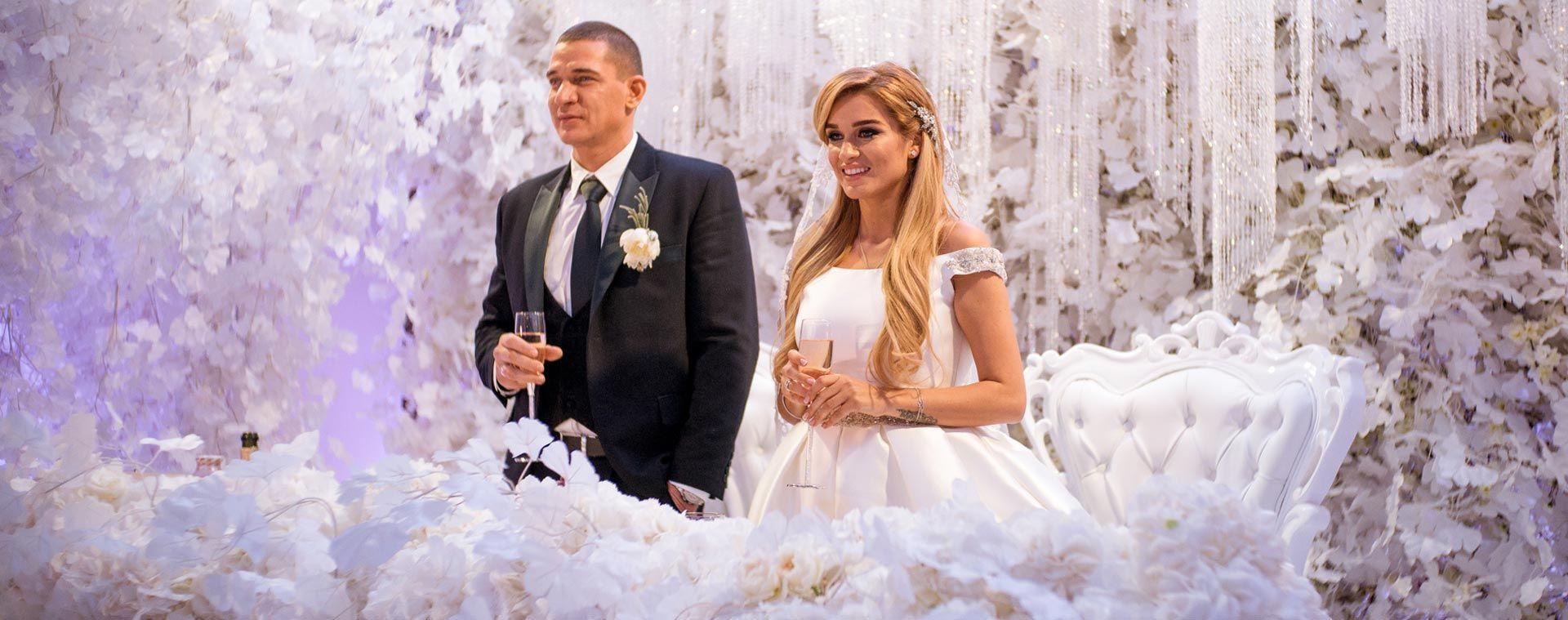 Фото с свадьбы ксении бородиной 2018