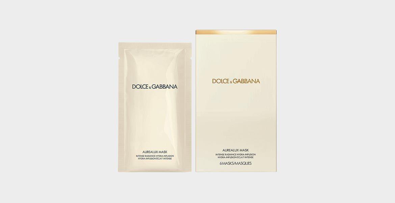 Маска Dolce & Gabbana Aurealux Mask