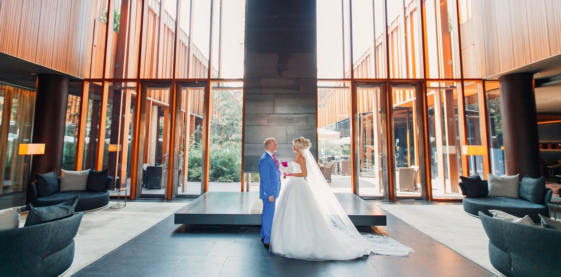 Лоск и глянец. Свадьба Яны и Сергея, фото 1