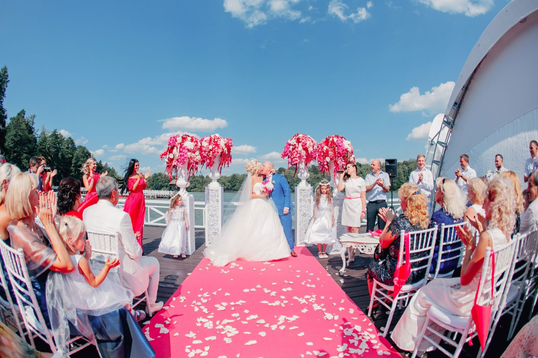 Лоск и глянец. Свадьба Яны и Сергея, фото 12