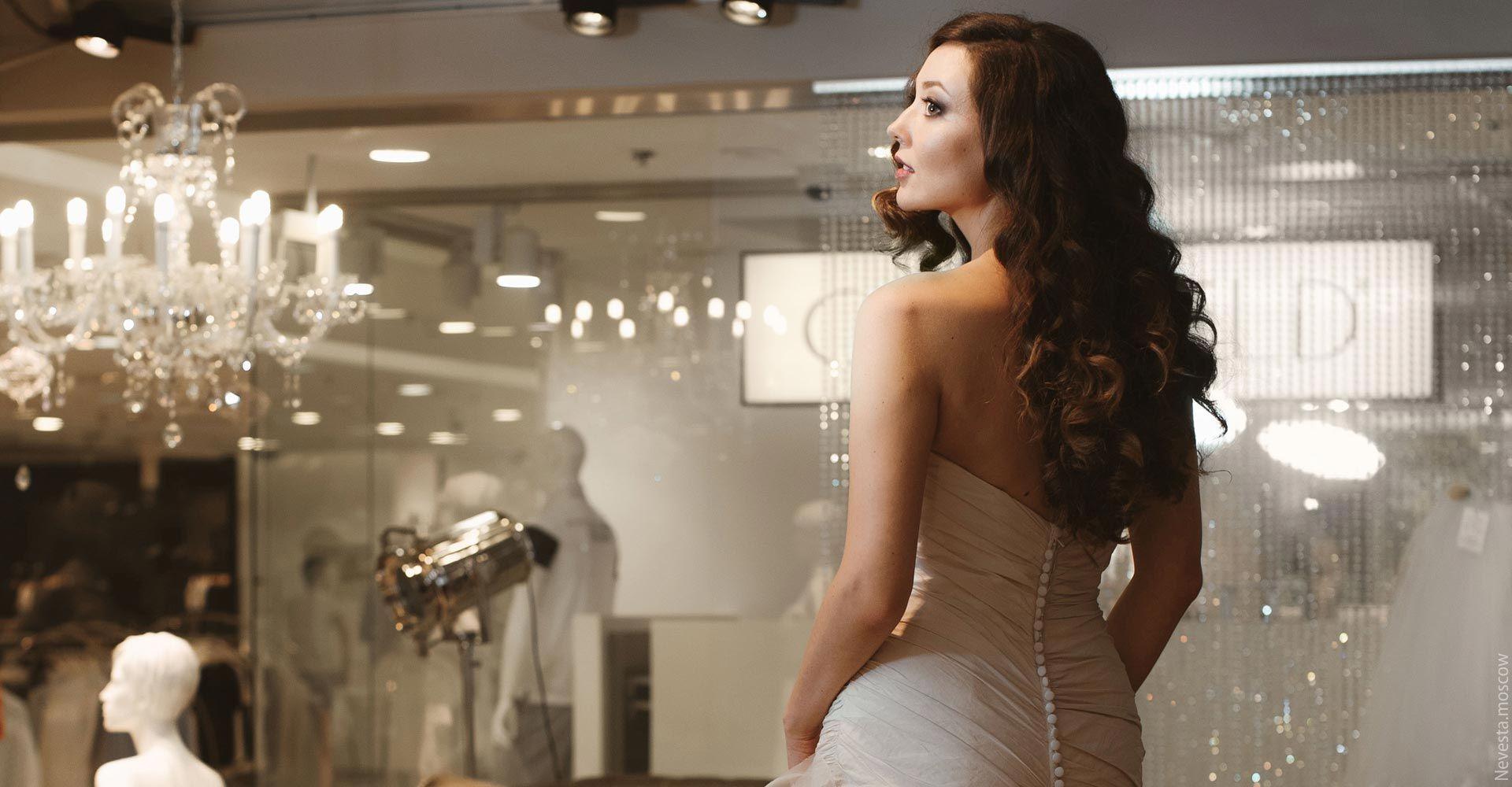 Рената Байкова примеряет свадебное платье фото 9