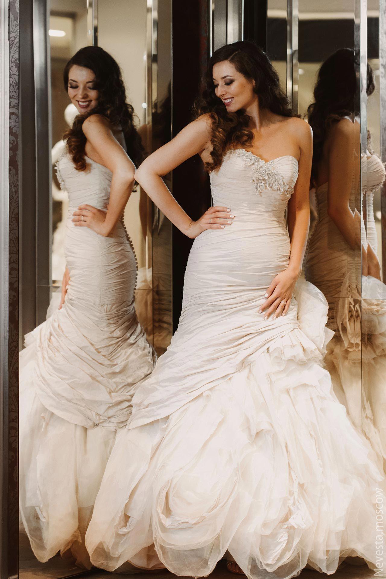 Рената Байкова примеряет свадебное платье фото 13