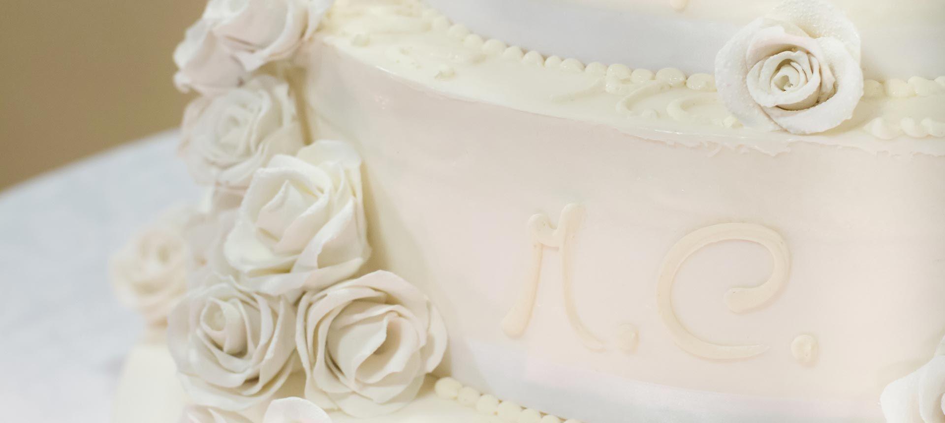 Элементы декора свадебного торта