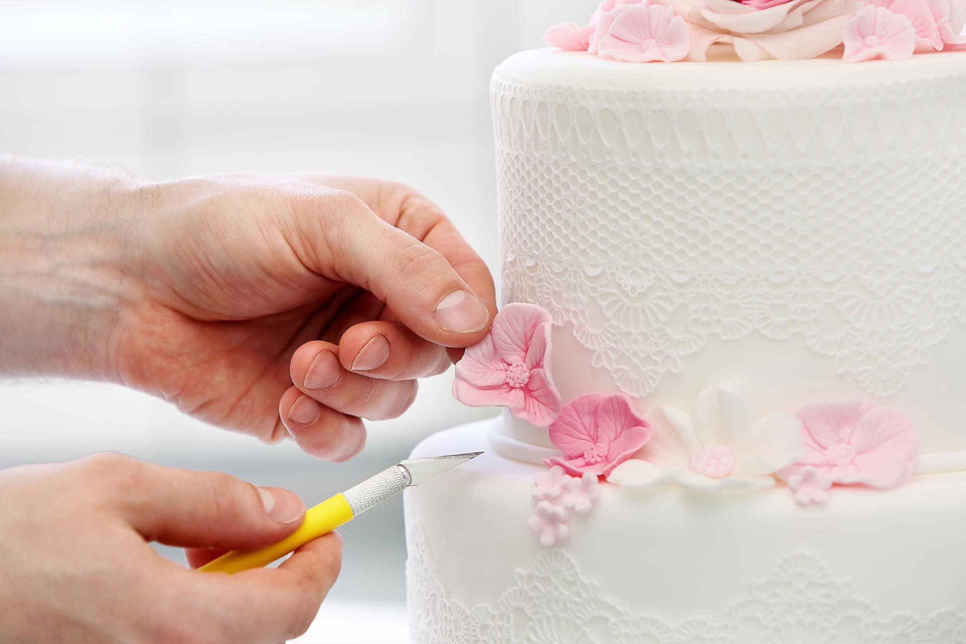 Размер свадебного торта