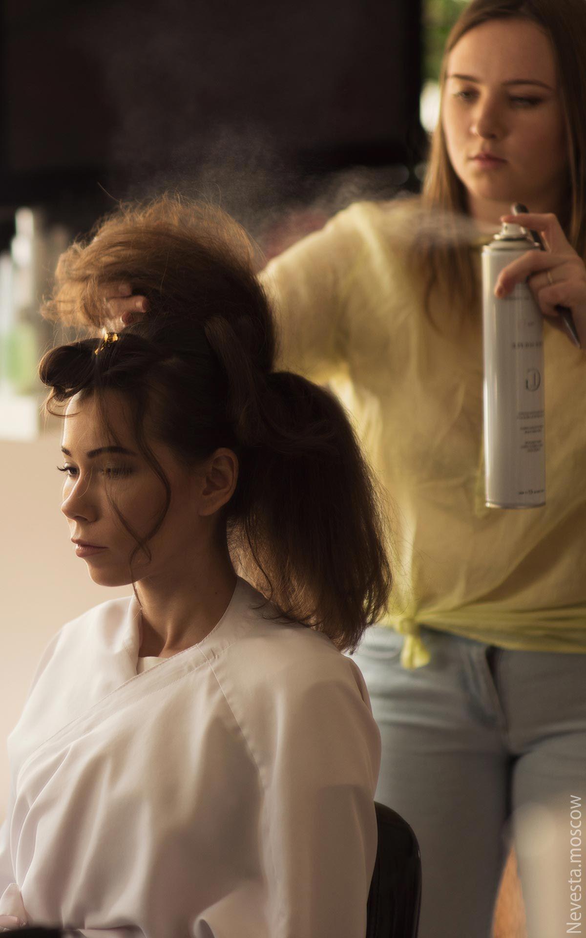 Бант из волос: хвост или пучок?