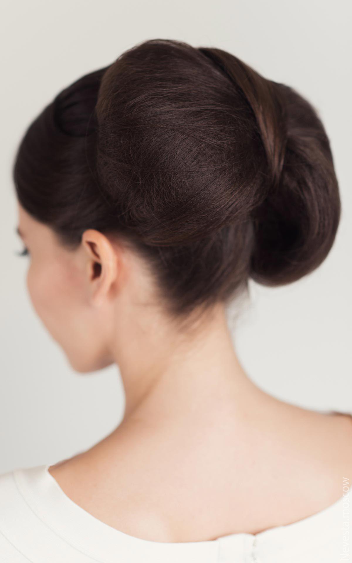 Бант, собранный из волос