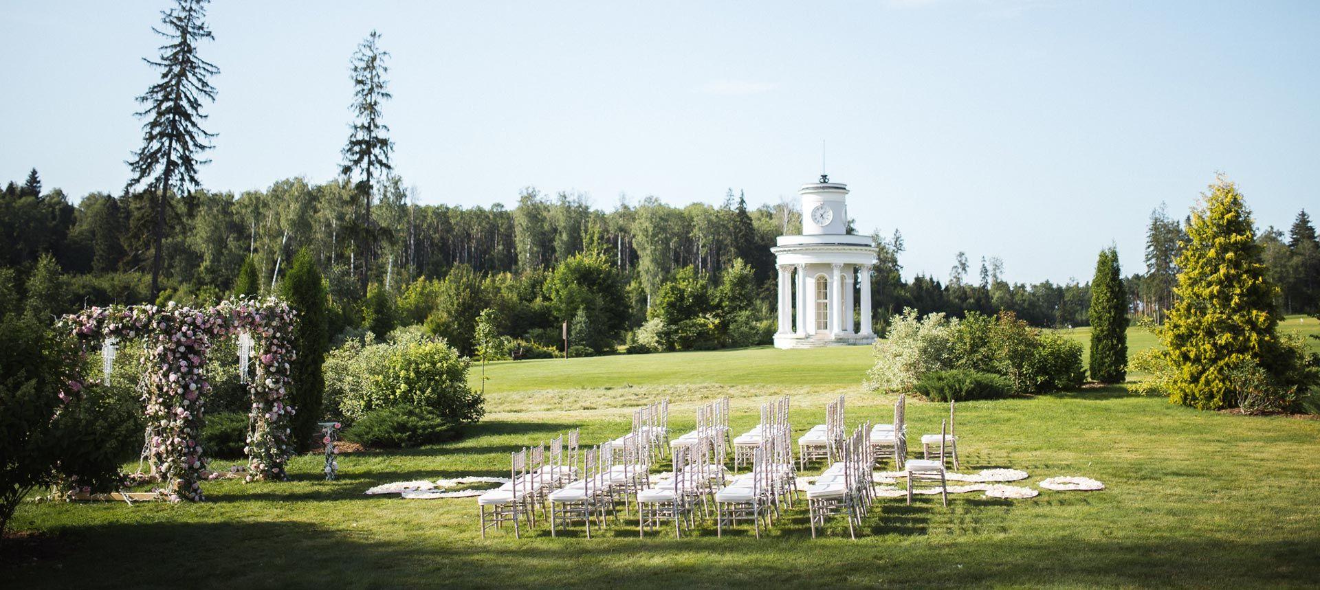 Классическая свадьба от агентства BMWedding
