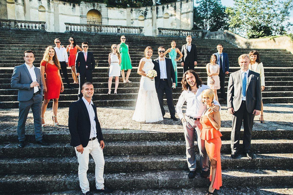 Свадьба в Венето
