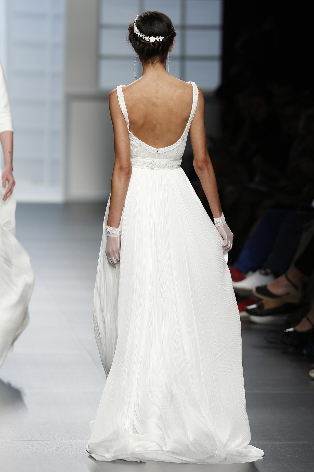 Свадебное платье стиля Ампир. Греческий силуэт