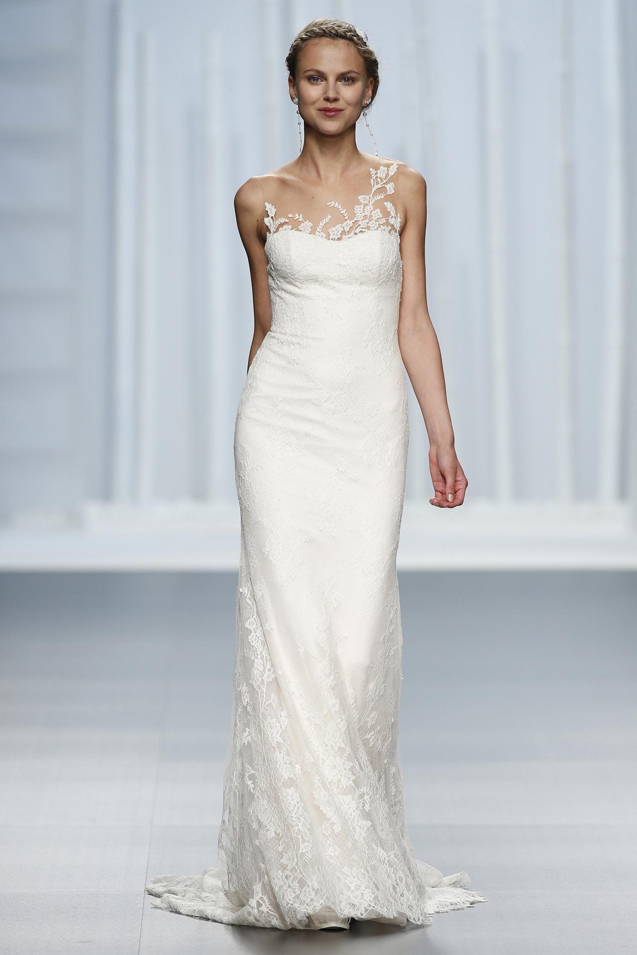 Облегающее свадебное платье. Силуэт «Русалка»