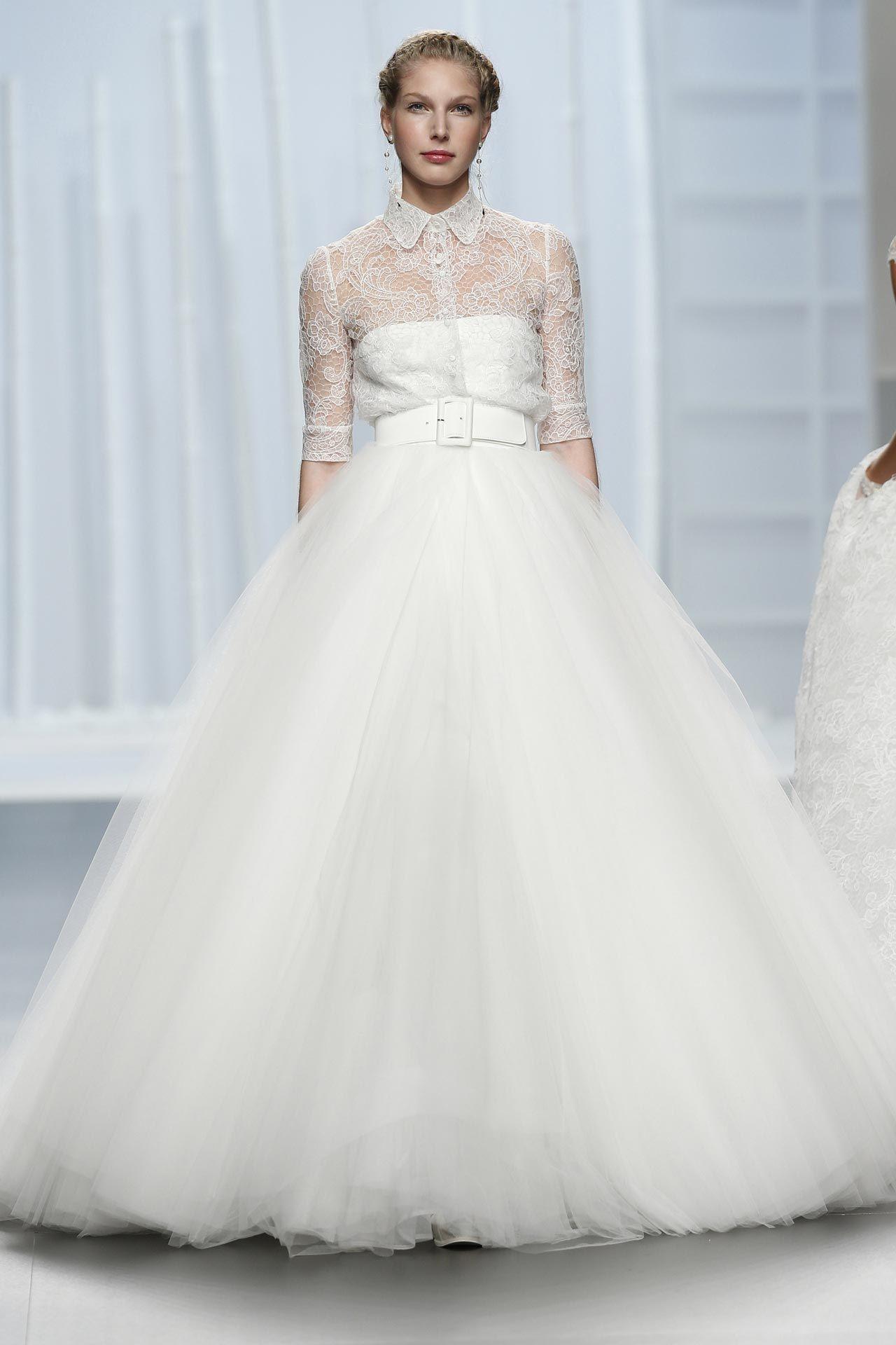 f058bd06f5a Пышное свадебное платье. Силуэт «бальное платье»