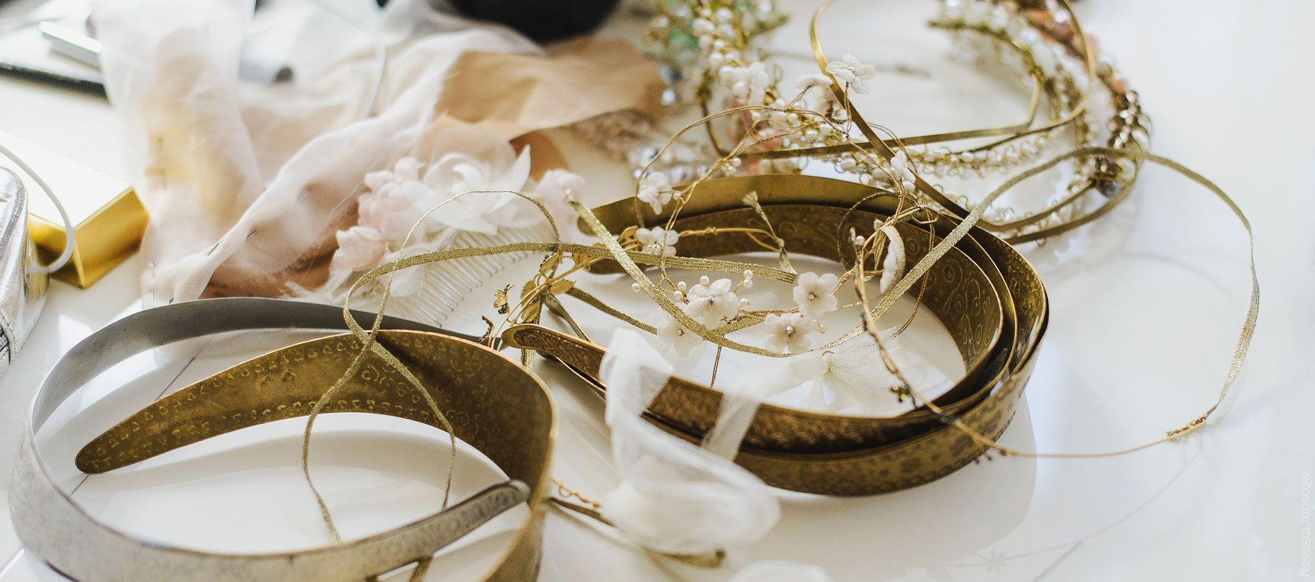 Анастасия Денисова примеряет свадебное платье фото 7