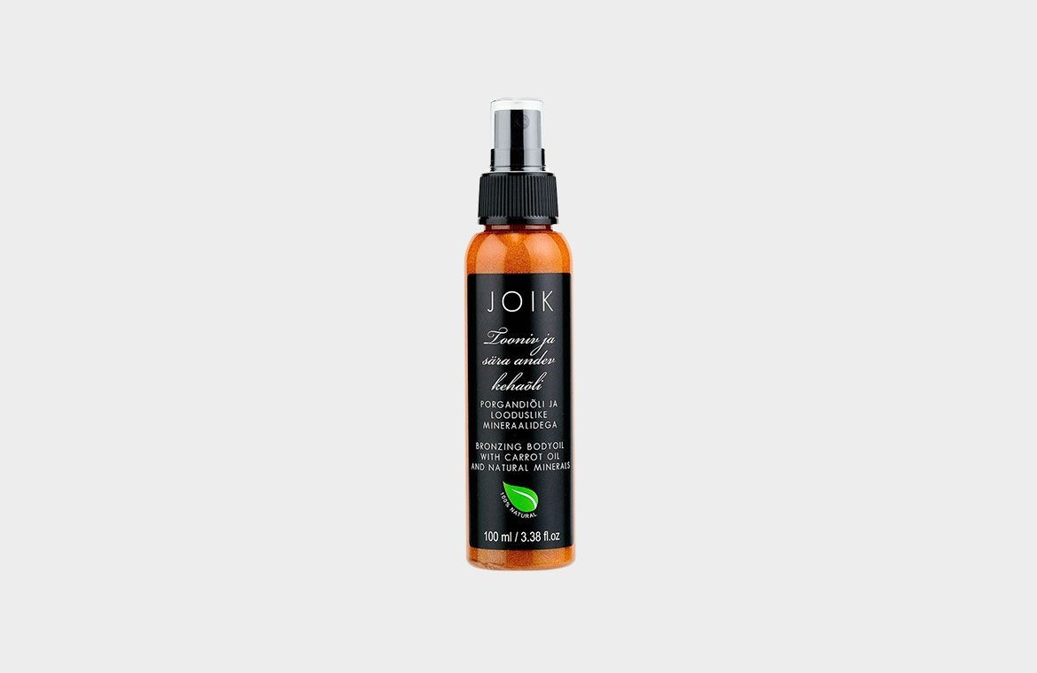 Joik bronzing bodyoil with carrot oil and natural minerals