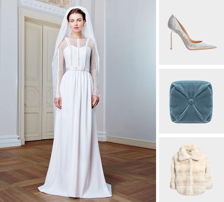 бархат свадебная коллекция платье пример 1
