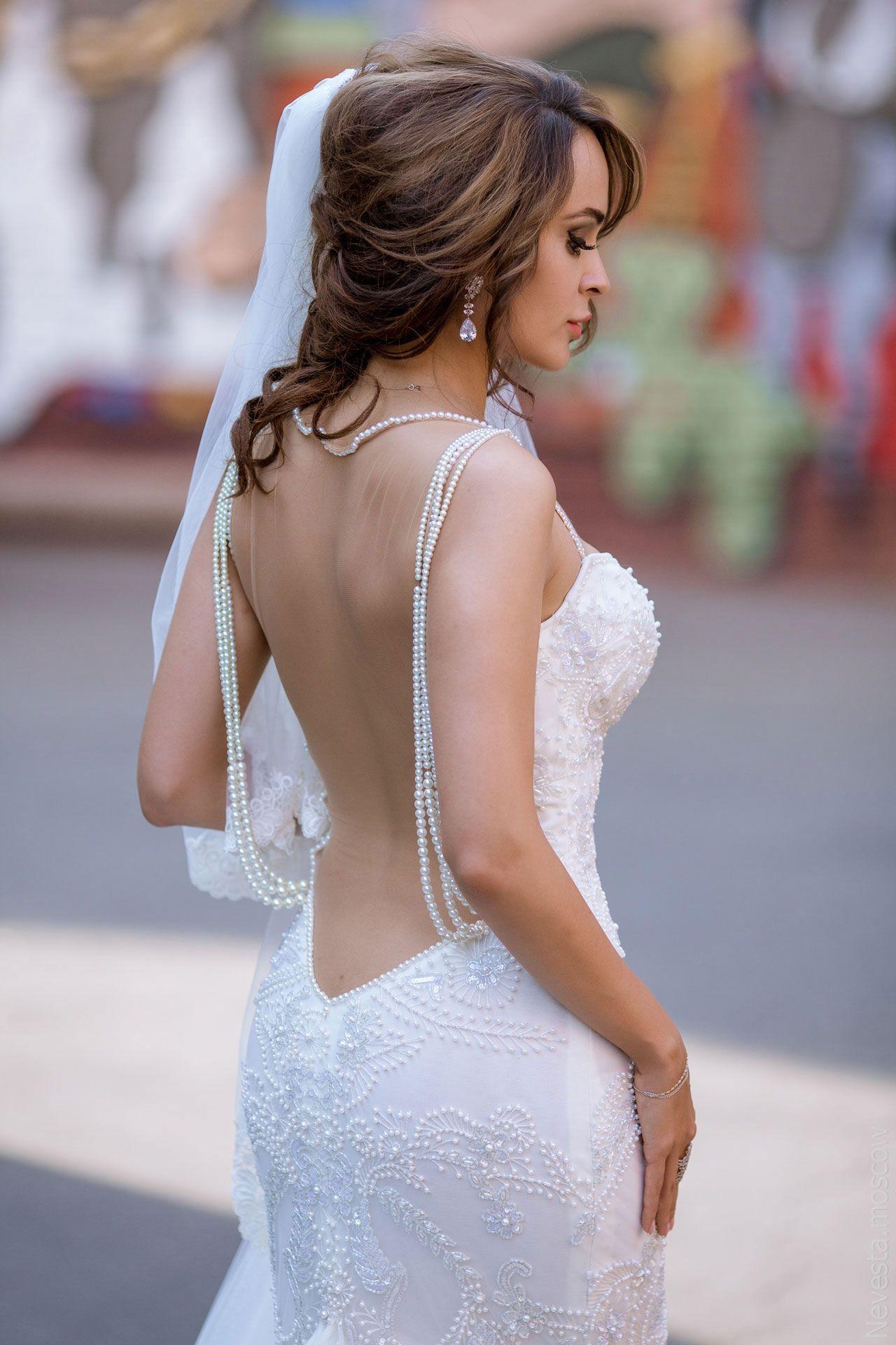 Актриса Анна Калашникова в образе белого лебедя фото 29