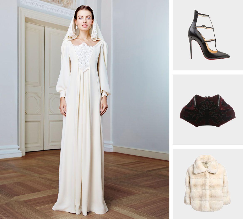 Готика стиль свадебное платье пример 2