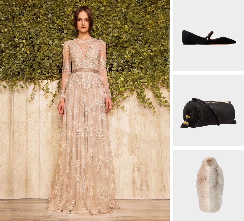 Готика стиль свадебное платье пример 3