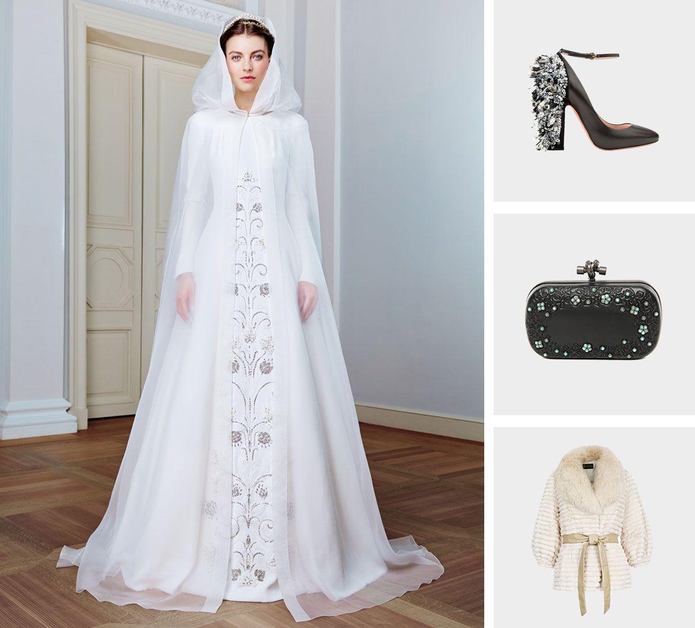 Готика стиль свадебное платье