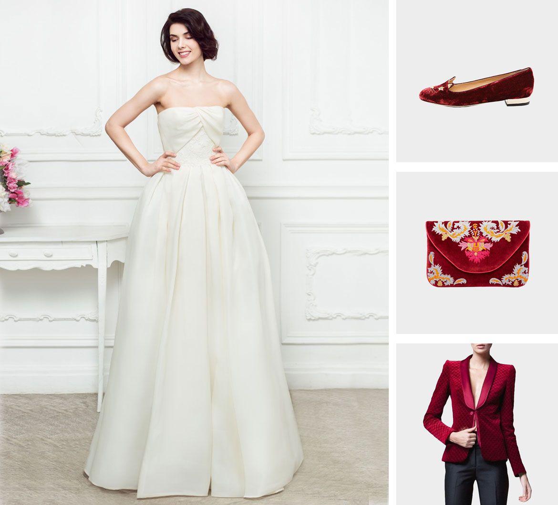 бархат свадебная коллекция платье пример 2