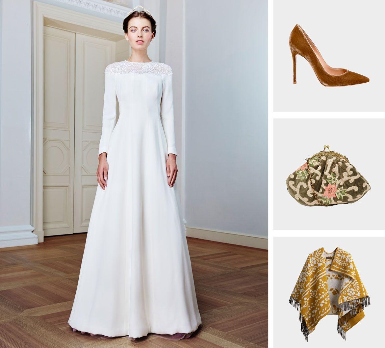 бархат свадебная коллекция платье пример 3