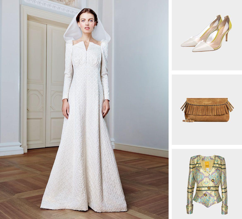 пэчворк свадебная коллекция платье пример 3