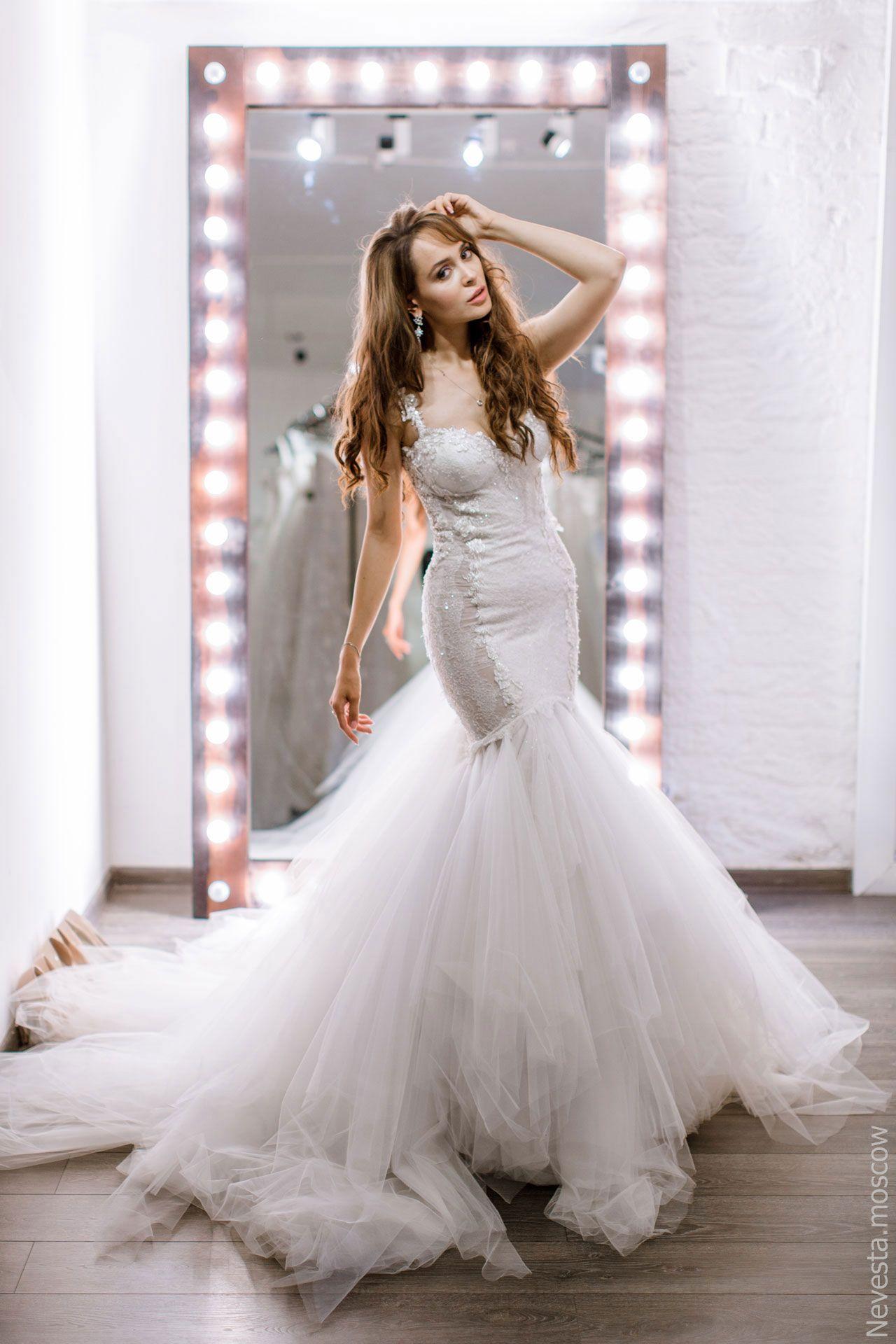 Актриса Анна Калашникова в образе белого лебедя фото 24