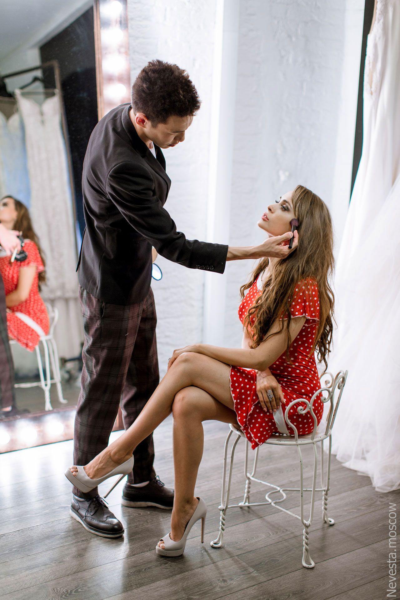 Актриса Анна Калашникова в образе белого лебедя фото 40