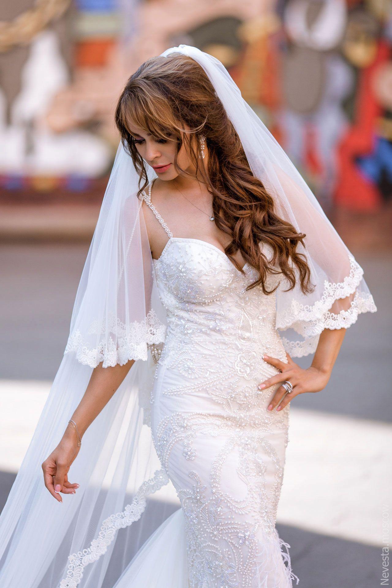 Актриса Анна Калашникова в образе белого лебедя фото 32