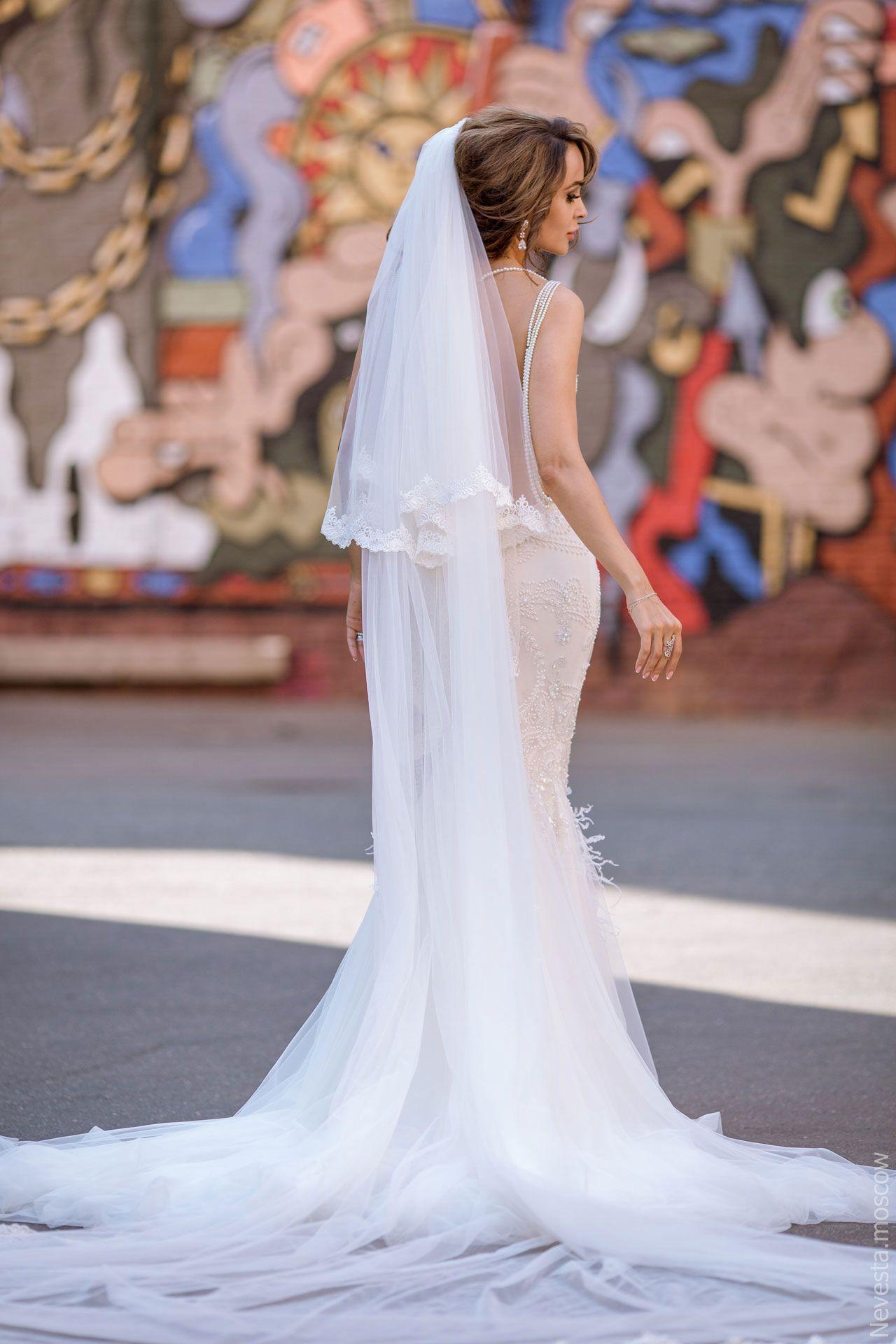 Актриса Анна Калашникова в образе белого лебедя фото 34