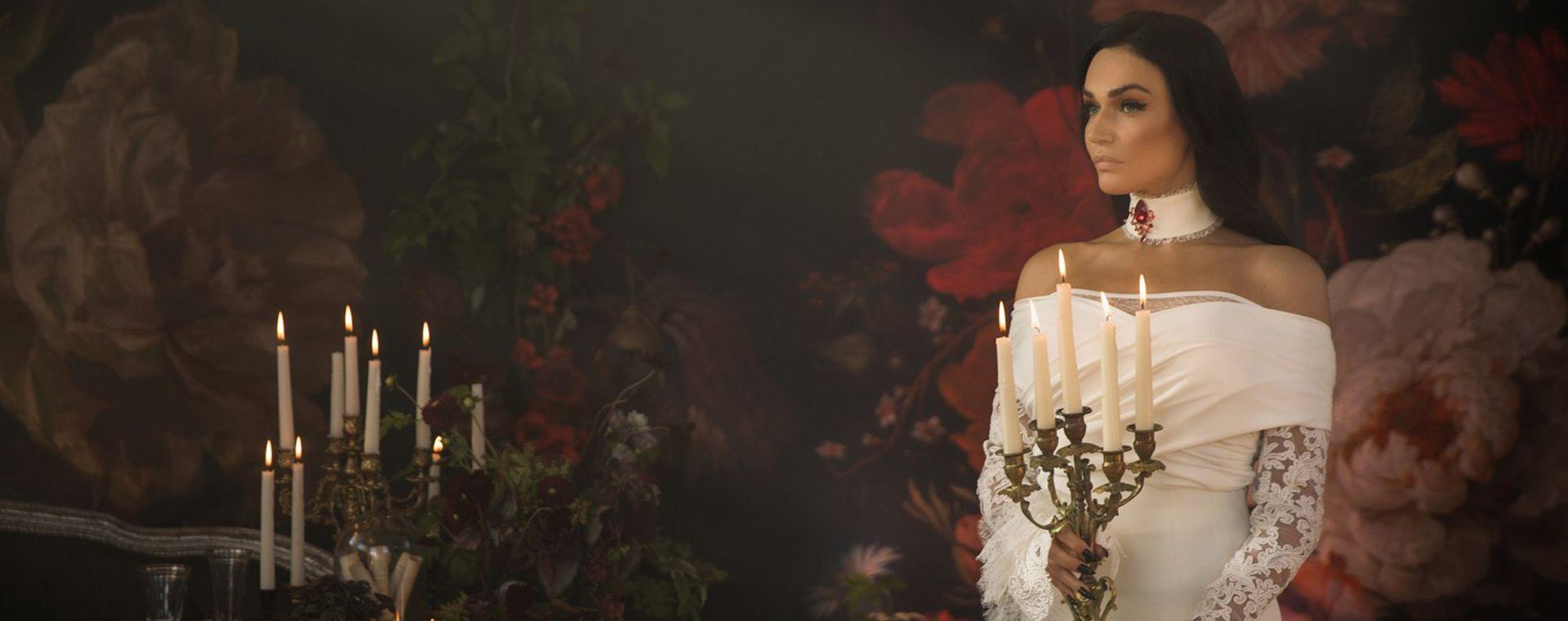 Фото свадьбу алены водонаевой