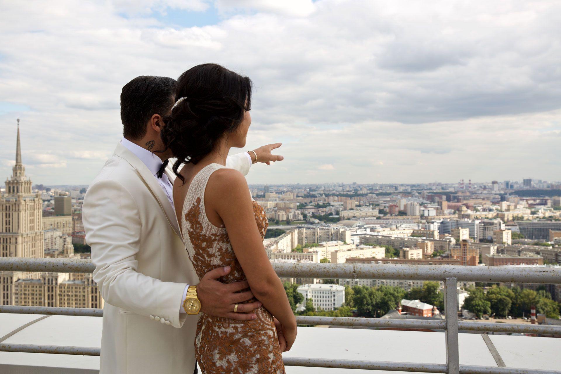 Открытие площадки с панорамным видом на Москву, фото 4
